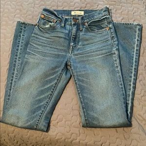 Madewell denim flare jeans size 23S